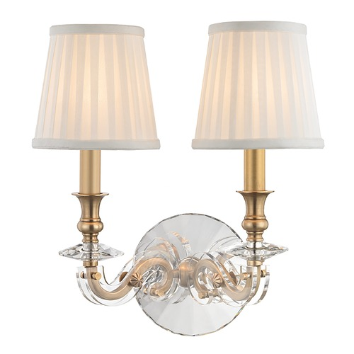 Hudson Valley Lighting Hudson Valley Lighting Lapeer Aged Brass Sconce 1292-AGB