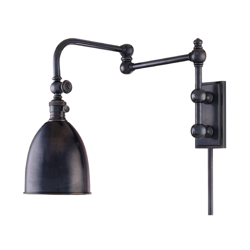 Hudson Valley Lighting Swing Arm Lamp in Old Bronze Finish 771-OB