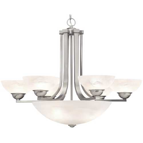 Dolan Designs Lighting Nine-Light Chandelier 205-09
