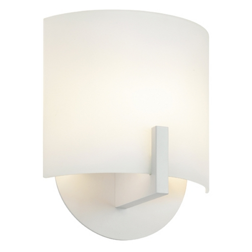 Sonneman Lighting Sonneman Lighting Scudo Textured White LED Sconce 1727.98
