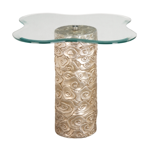 Sterling Lighting Sterling Lighting Silver Leaf Accent Table 6041787