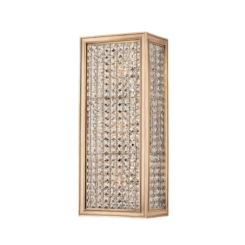 Hudson Valley Lighting Hudson Valley Lighting Norwood Aged Brass Sconce 1003-AGB