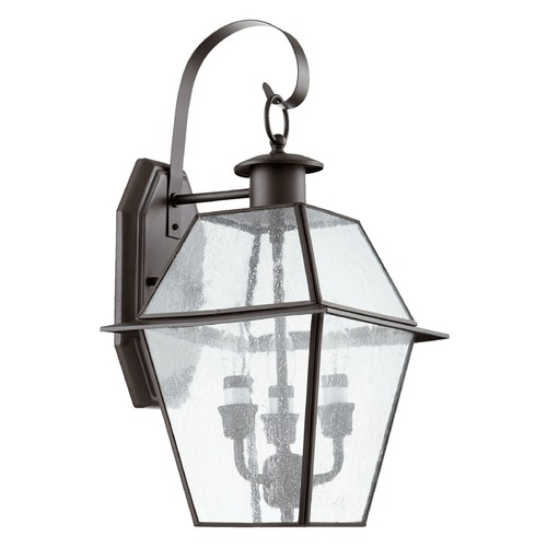 Quorum Lighting Quorum Lighting Duvall Bronze Outdoor Wall Light 729-3-136