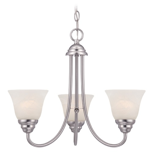 Designers Fountain Lighting Designers Fountain Kendall Satin Platinum Chandelier 85183-SP