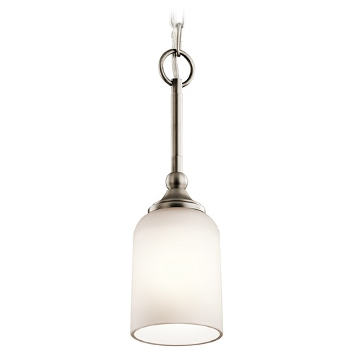 Kichler Lighting Kichler Lighting Lilah Mini-Pendant Light with Bowl / Dome Shade 43654AP