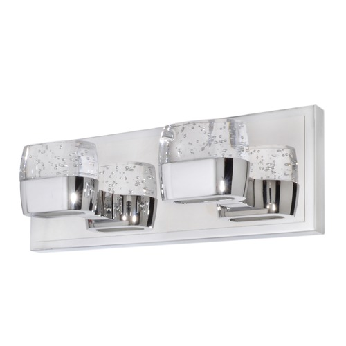 ET2 Lighting Volt Polished Chrome LED Bathroom Light E22892-89PC