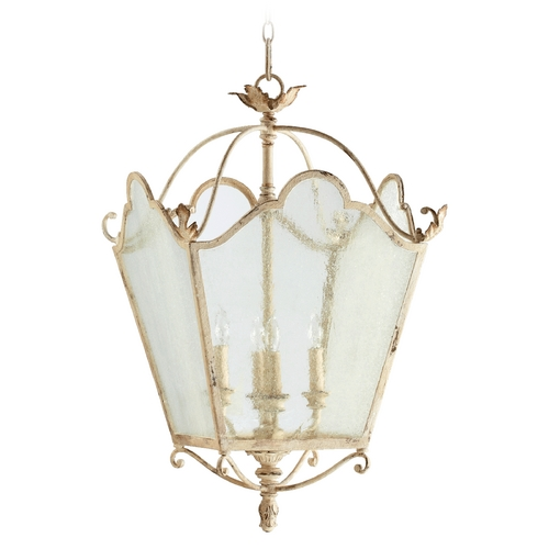 Quorum Lighting Quorum Lighting Salento Persian White Pendant Light 6906-4-70