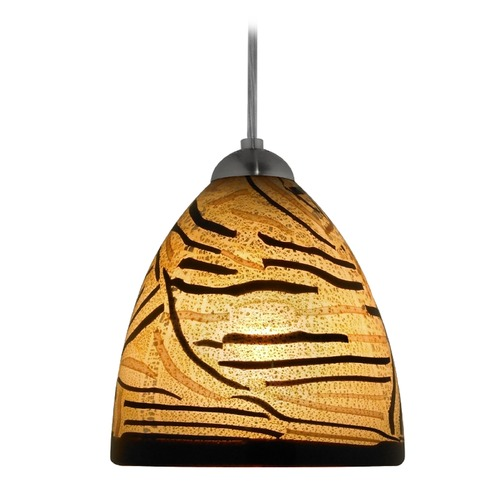 Oggetti Lighting Oggetti Elan Dark Bronze Mini-Pendant Light with Bowl / Dome Shade 79-L0622R