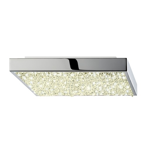 Sonneman Lighting Sonneman Dazzle Polished Chrome LED Flushmount Light   2569.01