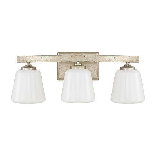 Capital Lighting Capital Lighting Berkeley Winter Gold Bathroom Light 8533WG-300