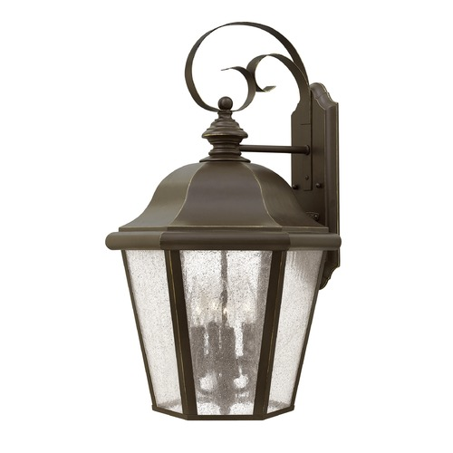 Hinkley Lighting Hinkley Lighting Edgewater Oil Rubbed Bronze Outdoor Wall Light 1675OZ
