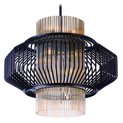 Maxim Lighting Maxim Lighting International Aviary Oil Rubbed Bronze LED Pendant Light 38487CGOI