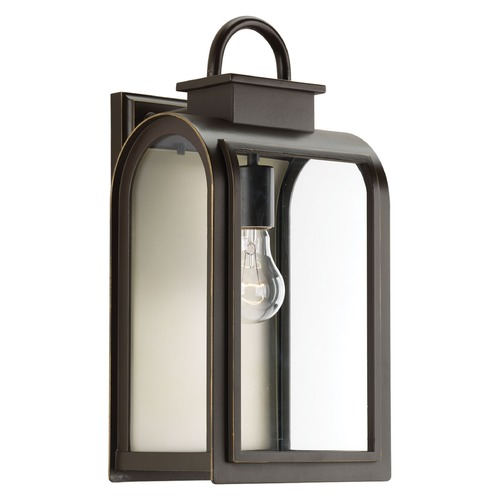 Progress Lighting Progress Lighting Refuge Oil Rubbed Bronze Outdoor Wall Light P6031-108