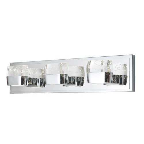 ET2 Lighting Volt Polished Chrome LED Bathroom Light E22893-89PC