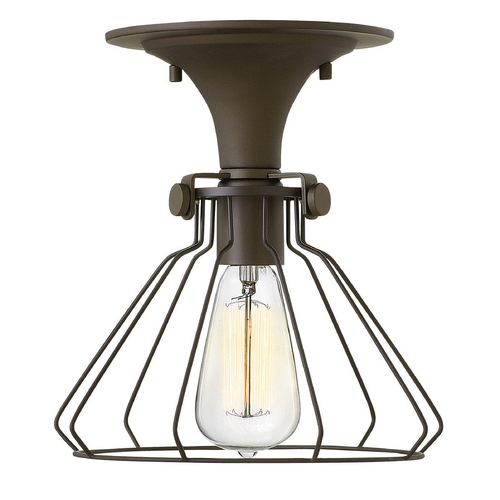 Hinkley Lighting Hinkley Lighting Congress Oil Rubbed Bronze Semi-Flushmount Light 3114OZ