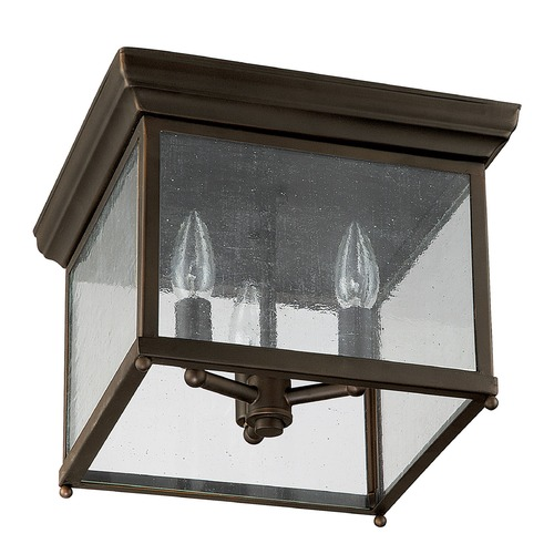 Capital Lighting Capital Lighting Old Bronze Close To Ceiling Light 9546OB