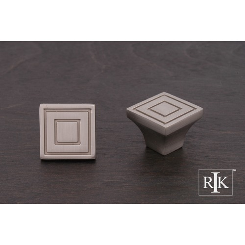 RK International Large Contemporary Square Knob CK770P