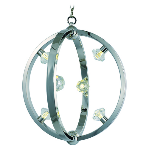 Maxim Lighting Maxim Lighting Equinox LED Polished Nickel LED Pendant Light 39102BCPN