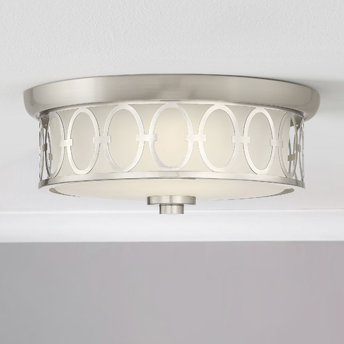 Savoy House Savoy House Sherrill Satin Nickel LED Flush Mount 3000K 1050LM 6-2390-14-SN