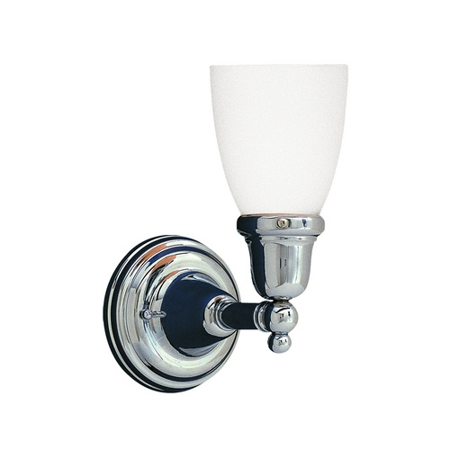 Hudson Valley Lighting Sconce with White Glass in Old Bronze Finish 861-OB-348M