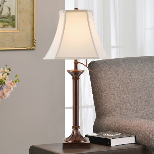 Design Classics Lighting Desk Lamp in Antique Bronze Finish - Shade Not Included DCL M6497-20