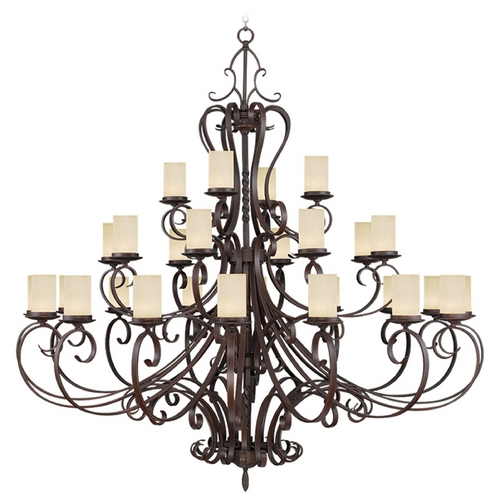 Livex Lighting Livex Lighting Millburn Manor Imperial Bronze Chandelier 5498-58