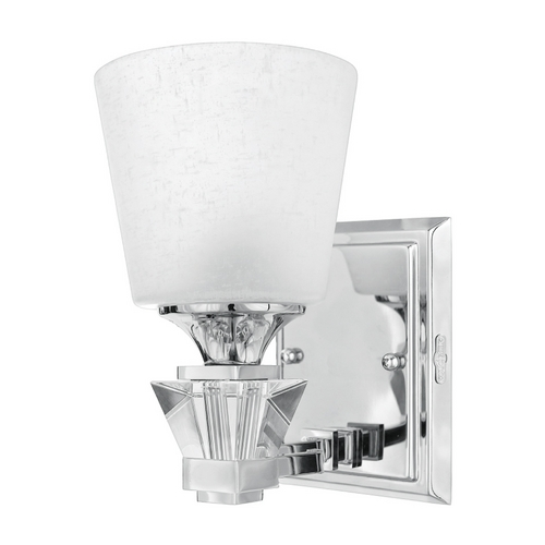 Quoizel Lighting Modern Sconce in Polished Chrome Finish DX8601C