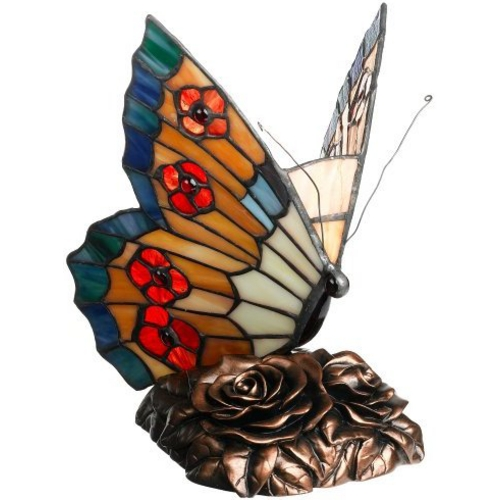 Quoizel Lighting Quoizel Butterfly Tiffany Lamp TF6599R