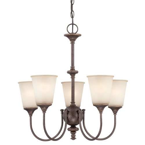 Lite Source Lighting Lite Source Lighting Sullivan Antique Gold Mini-Chandelier LS-19898
