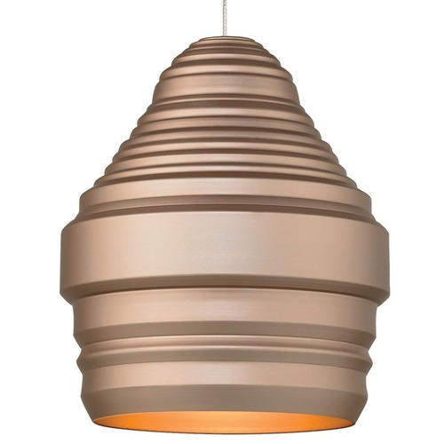 Tech Lighting Tech Mini Ryker Satin Nickel Mini-Pendant Light 700FJRYKGS