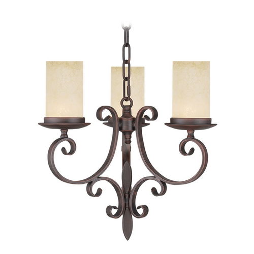 Livex Lighting Livex Lighting Millburn Manor Imperial Bronze Mini-Chandelier 5483-58