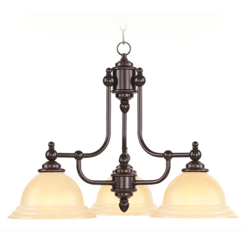 Livex Lighting Livex Lighting North Port Olde Bronze Chandelier 4253-67