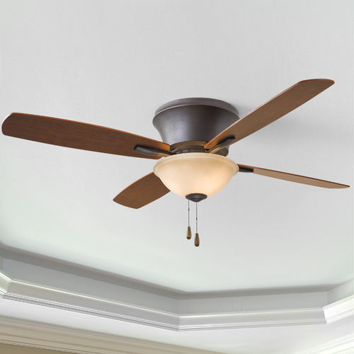 Minka Aire 52-Inch Minka Aire Mojo II Oil-Rubbed Bronze Ceiling Fan with Light F533-ORB