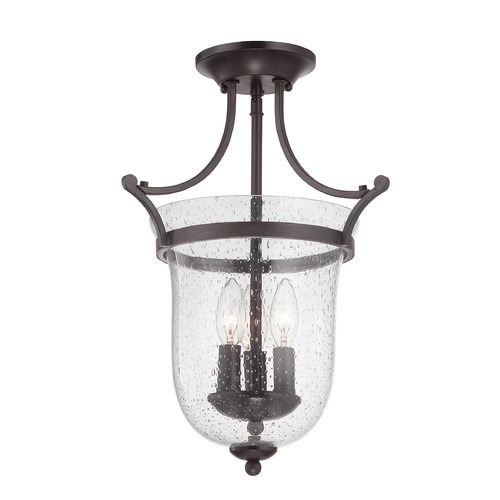 Savoy House Savoy House English Bronze Semi-Flushmount Light 6-7133-3-13