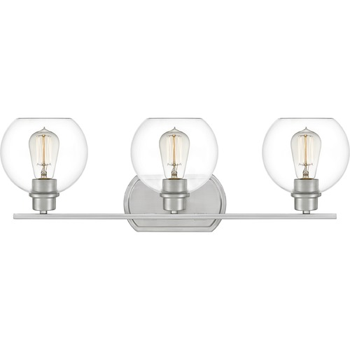 Quoizel Lighting Quoizel Lighting Pruitt Brushed Nickel Bathroom Light PRUC8626BN