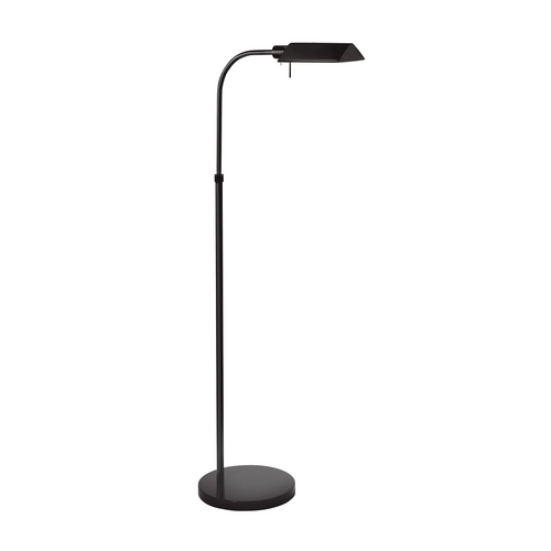 Sonneman Lighting Modern Pharmacy Lamp in Satin Black Finish 7005.25