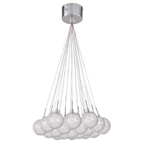 ET2 Lighting Modern Low Voltage Multi-Light Pendant Light 19-Lights E20113-78
