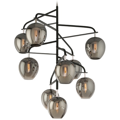 Troy Lighting Troy Lighting Odyssey Carbide Black and Polished Nickel Pendant Light F4298