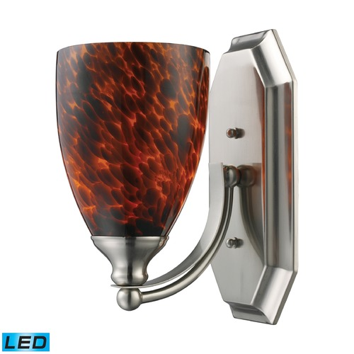 Elk Lighting Elk Lighting Bath and Spa Satin Nickel LED Sconce 570-1N-ES-LED