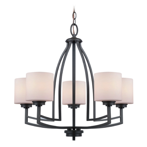 Lite Source Lighting Lite Source Lighting Winston Dark Bronze Chandelier LS-19785D/BRZ