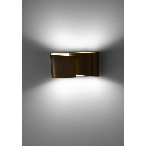 Holtkoetter Lighting Holtkoetter Modern Sconce Wall Light in Hand-Brushed Old Bronze Finish 8531 HBOB