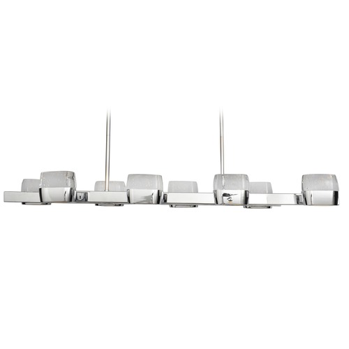 ET2 Lighting Volt Polished Chrome LED Island Light with Rectangle Shade E22897-89PC