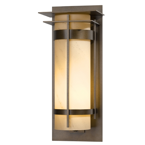 Hubbardton Forge Lighting Hubbardton Forge Lighting Banded Bronze Outdoor Wall Light 305995-05-H240