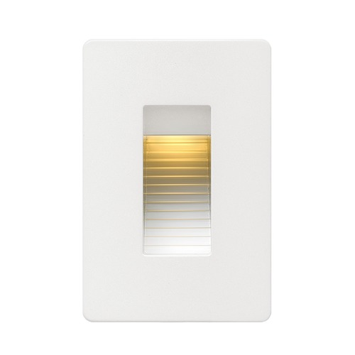 Hinkley Lighting Hinkley Lighting Luna Satin White LED Recessed Step Light 58504SW
