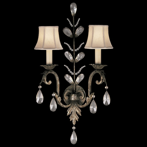 Fine Art Lamps Fine Art Lamps a Midsummer Nights Dream Cool Moonlit Patina Sconce 142550ST