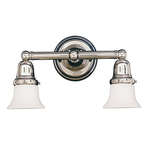 Hudson Valley Lighting Hudson Valley Lighting Historic Collection Polished Nickel Bathroom Light 862-PN-341
