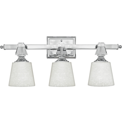 Quoizel Lighting Modern Bathroom Light in Polished Chrome Finish DX8603C