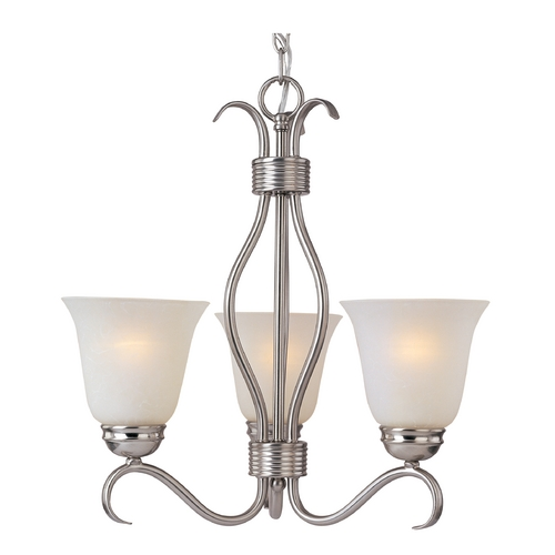 Maxim Lighting Maxim Lighting Basix Satin Nickel Mini-Chandelier 10123ICSN