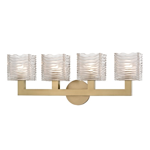 Hudson Valley Lighting Hudson Valley Lighting Sagamore Aged Brass LED Bathroom Light 5444-AGB