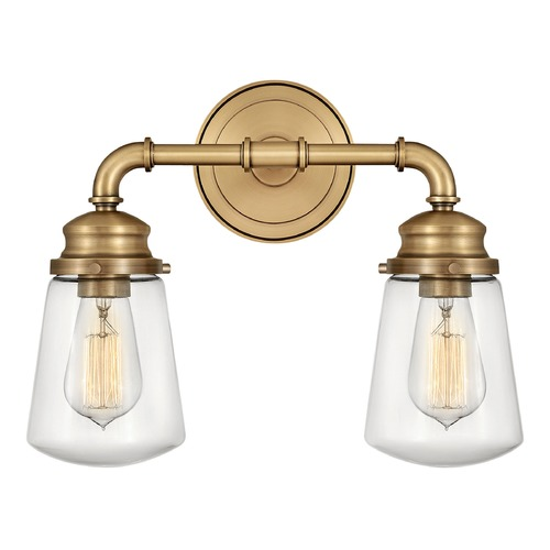 Hinkley Hinkley Fritz Heritage Brass Bathroom Light 5032HB